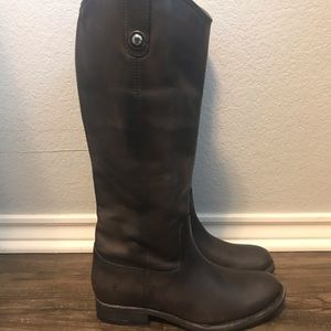 Frye Melissa Button Leather Boot
